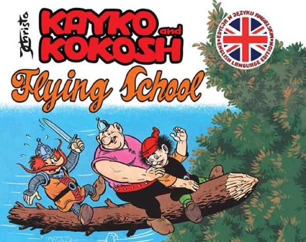 """Angielskie wydanie komiksu """"Kayko and Kokosh"""" już w kwietniu!"""