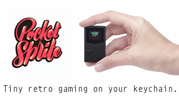 PocketSprite to Game Boy w formie breloka za 190 zł