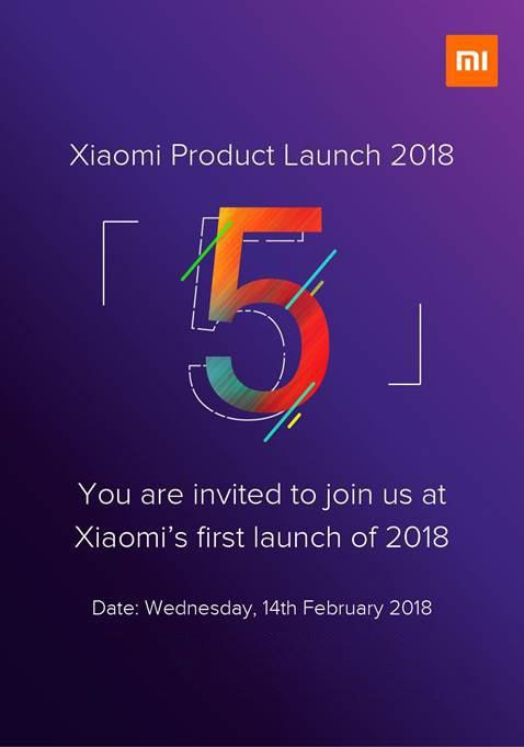 Zaproszenie na Xiaomi Product Launch 2018