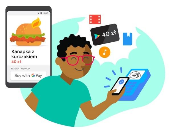 Płacąc Google Pay możesz zdobyć 40 zł na zakupy w Google Play
