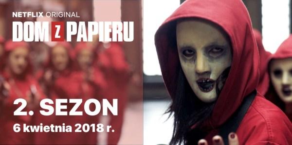 """Drugi sezon serialu """"Dom z papieru"""" 6 kwietnia!"""