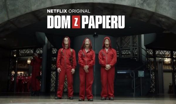 """Zobacz nowy zwiastun drugiego sezonu """"Dom z papieru"""""""