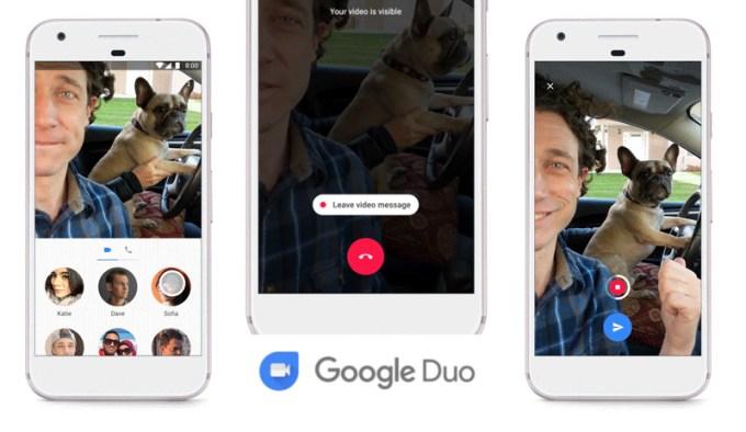 Wiadomości wideo w Google Duo