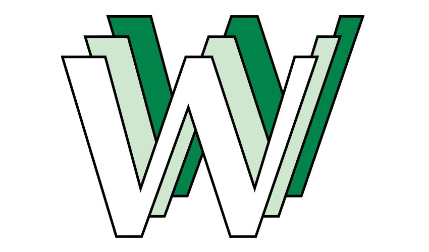 Historyczne logo sieci WWW (autor Robert Cailliau)