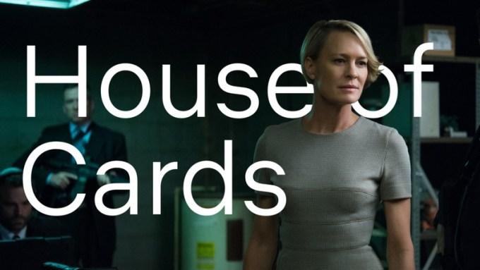 House of Cards (przykład użycia nowej czcionki Netflix Sans)