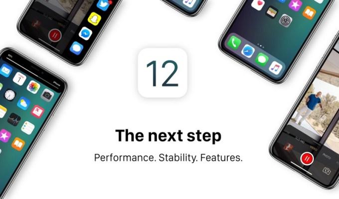 iOS 12 - koncepcja mobilnego systemu Apple (2018)