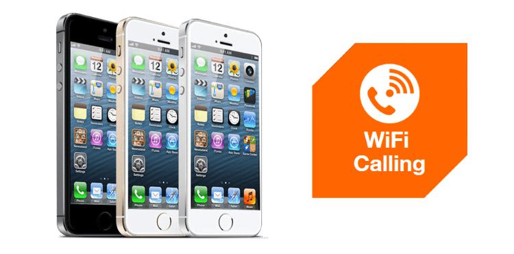 WiFi Calling dla użytkowników iPhone'a 5s w Orange