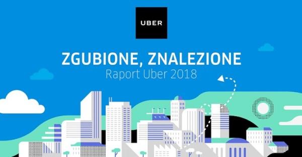 Co najczęściej zostawiamy w taksówkach Ubera?