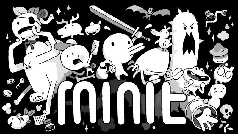 "Screen z gry ""Minit"""