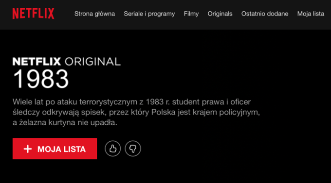 Netflix Original: 1983