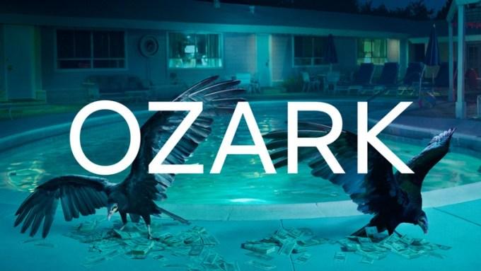 Tytuł serialu Ozark napisany czcionką Netflix Sans