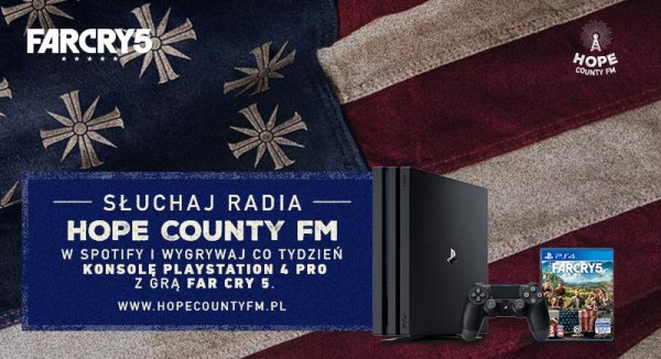 Poznaj świat gry Far Cry 5 w radiu Hope County FM