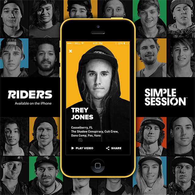 Riders BMX - Trey Jones