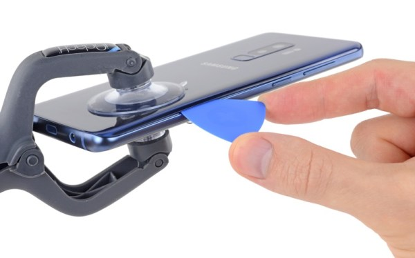Czy łatwo jest naprawić nowego Galaxy S9+?