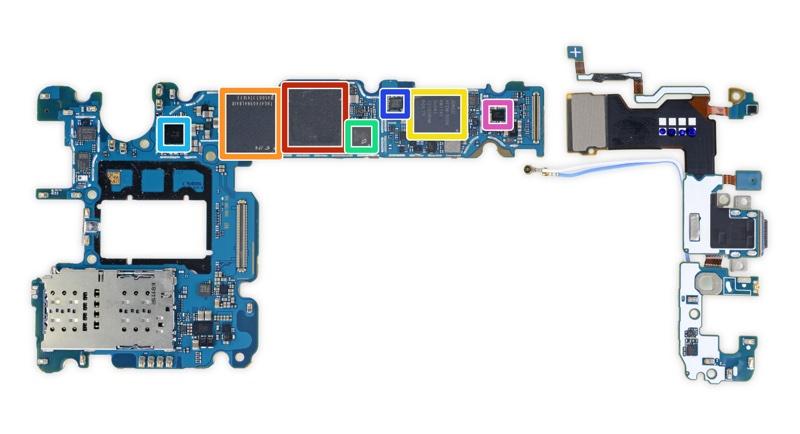 Płyta główna Galaxy S9+