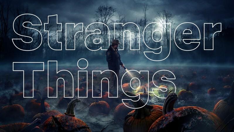 Stranger Things (przykład użycia nowej czcionki Netflix Sans)
