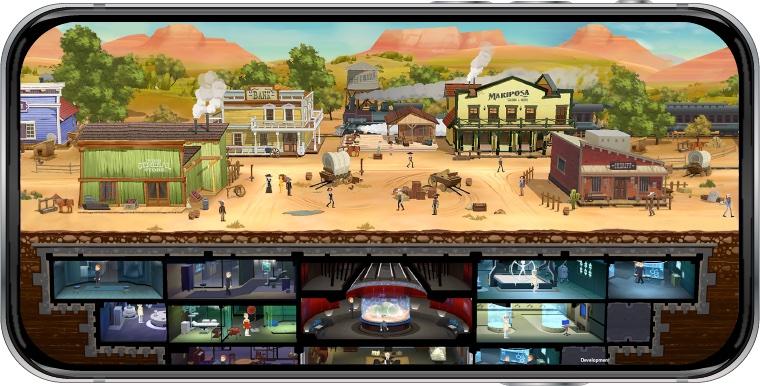 Westworld - gra mobilna (zrzut ekranu)