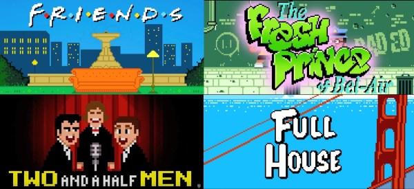 """8-bitowe czołówki seriali z lat 90. promują film """"Player One"""""""
