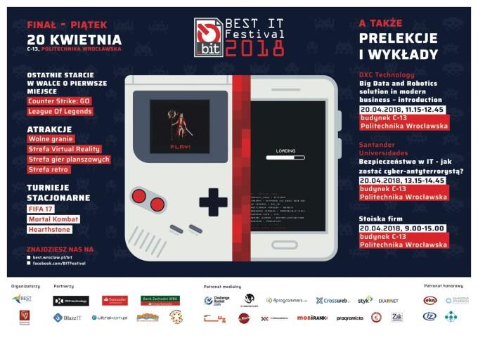 Plakat BIT Festival 2018