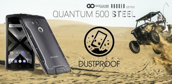 "Goclever Quantum 500 Steel z ""czystym"" Androidem i certyfikatem GMS"