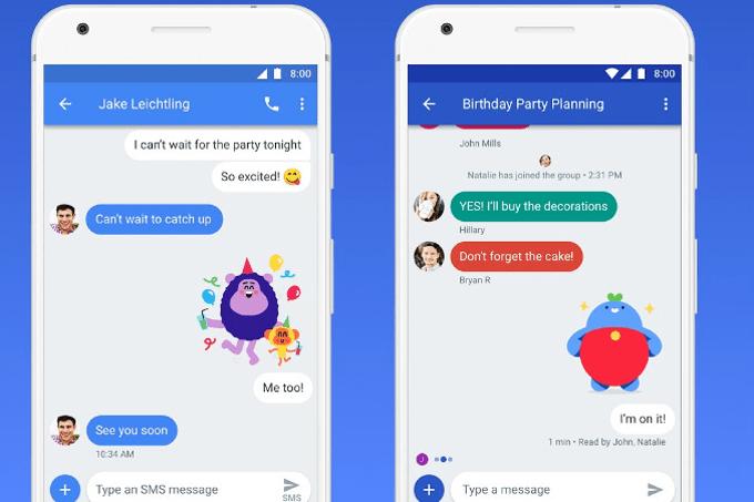 Komunikator mobilny Google Chat
