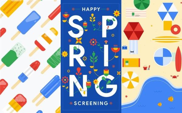 Wybierz jedną z wiosennych tapet na smartfona od Google