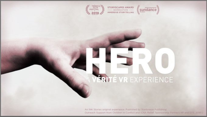 "Film VR ""Hero"" od iNK Stories (Tribeca, Sundance)"