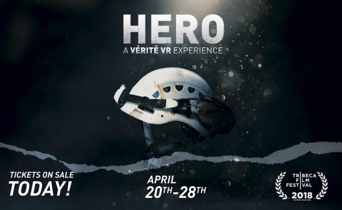 "Pokaz filmu VR pt. ""Hero"" podczas festiwalu Tribeca 2018"