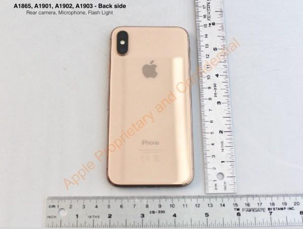 Czyżby to był złoty iPhone X na zdjęciach od FCC?