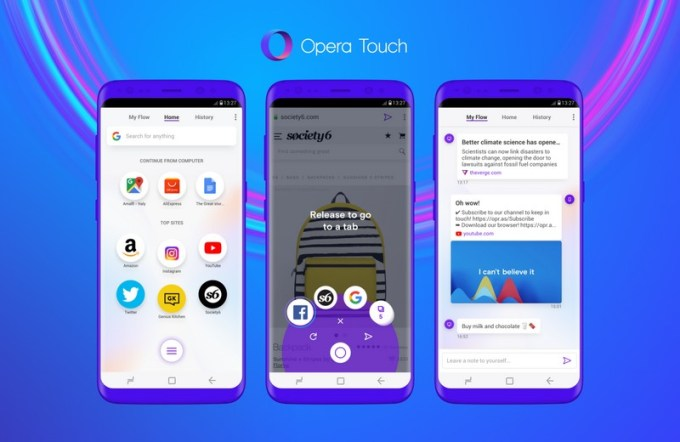 Opera Touch (mobile)