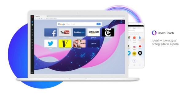 Opera Touch to zupełnie nowa przeglądarka mobilna