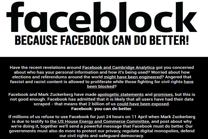 Faceblock (11 kwietnia 2018)