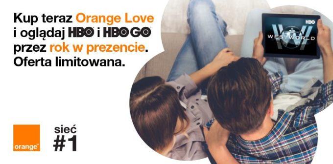 Orange Love z HBO i HBO Go w prezencie na rok