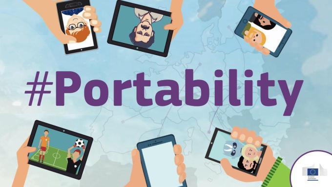 #Portability - jednolity rynek cyfrowy w Unii Europejskiej