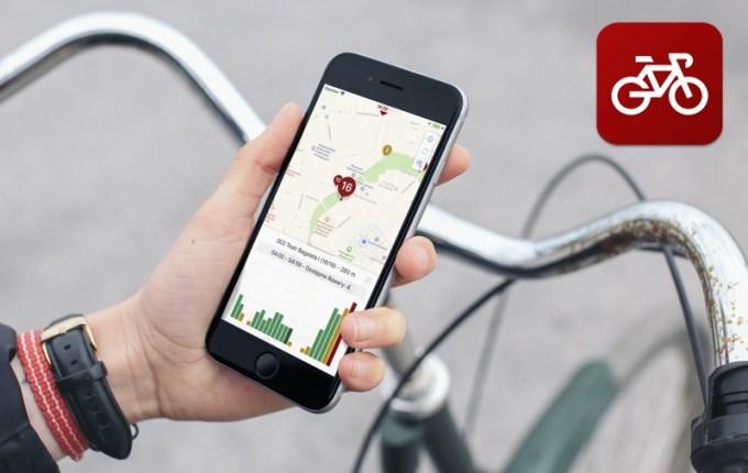 """Aplikacja mobilna """"Rower Miejski!"""""""