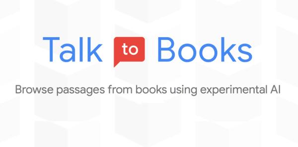 """""""Talk to Books"""" od Google'a wykorzystuje AI do przeglądania książek"""
