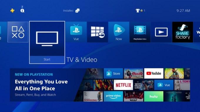 TV & Video na PS4 – wszystkie serwisy w jednym miejscu