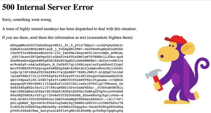 YouTube -awaria 2 kwietnia 2018