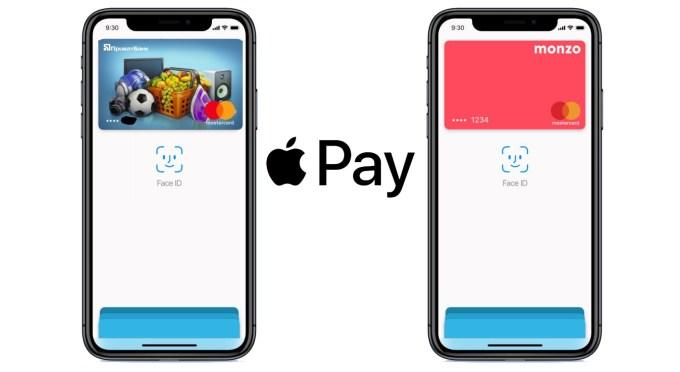 Apple Pay na Ukrainie i w Monzo