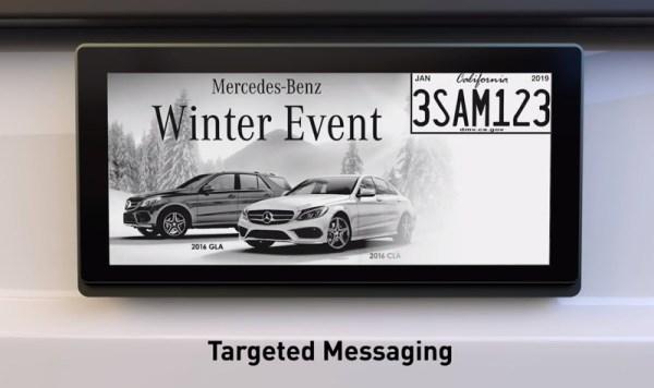 Cyfrowe tablice rejestracyjne trafiły na drogi w Kalifornii