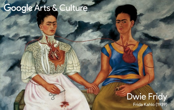 Google Arts & Culture Faces of Frida, Dwie Fridy (1939)
