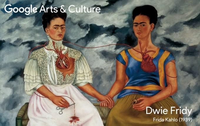 Google Arts & Culture Faces of Frida, Dwie Fridy (1939)
