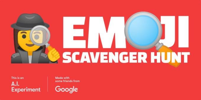 Emoji Scavenger Hunt (AI Google Experiment) (logo)