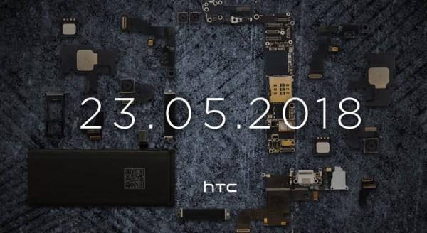 HTC ujawni swojego kolejnego flagowca 23 maja 2018 r.