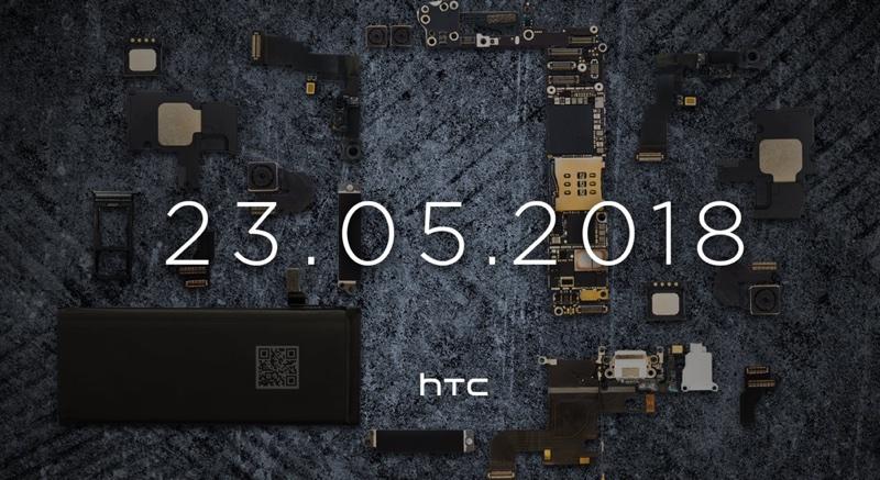 HTC - teaser wydarzenia 23 maja 2018 r.