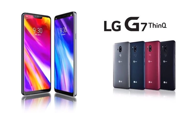 Smartfon LG G7 ThinQ (oficjalne)