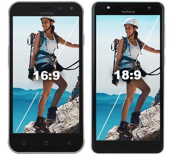 myPhone Pocket 2 vs. myPhone Pocket 18x9
