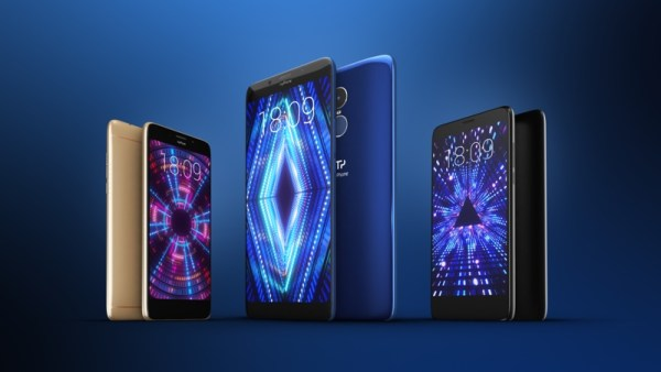 myPhone promuje smartfony  z panoramicznymi ekranami full screen 18:9