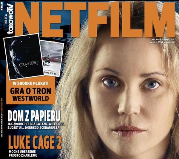 Drugi numer magazynu o serialach Netfilm już 8 maja w kioskach