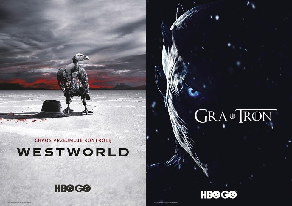 Plakaty: Westworld i Gra o tron